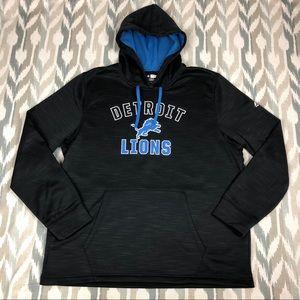 Majestic NFL Team Apparel Detroit Lions Men Hoodie